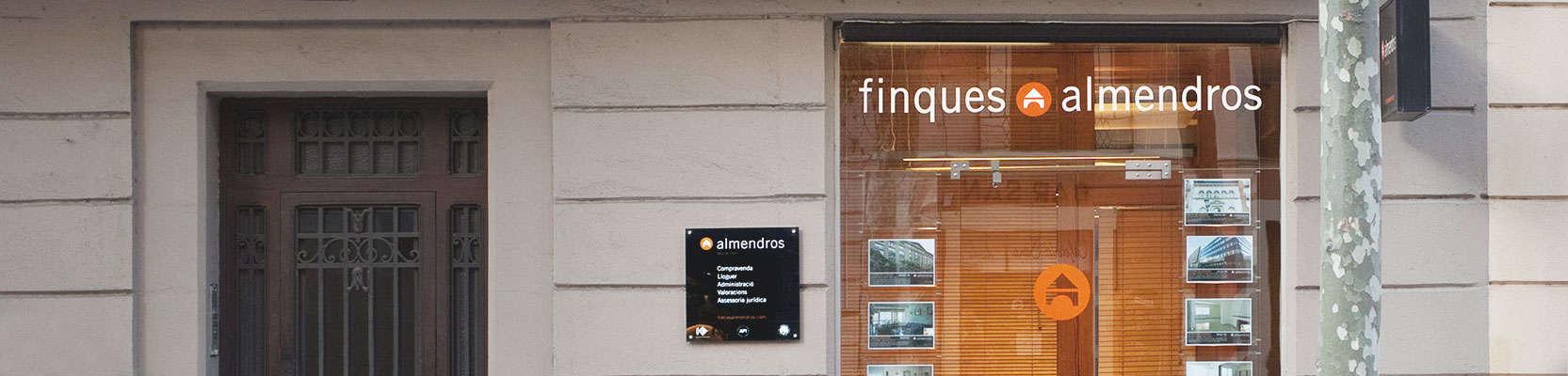 agencias inmobiliarias barcelona, fincas almendros
