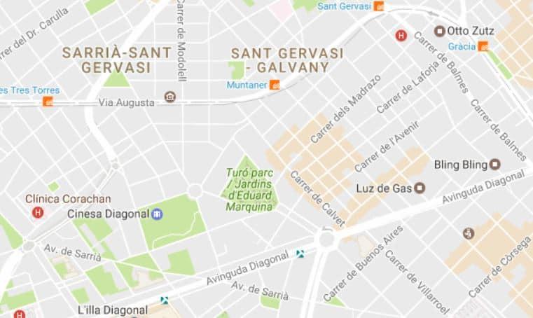 comprar pisos turo park barcelona